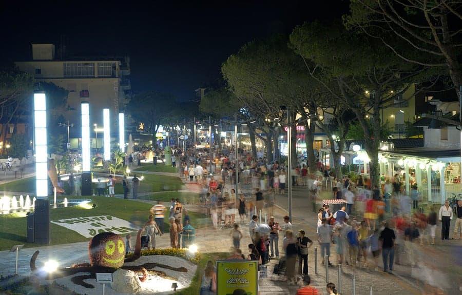 Fußgängerzone Lido di Jesolo