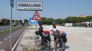 Ortsschild Cavallino