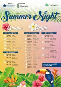 Summer Night Ca' Savio und Ca' di valle 2018