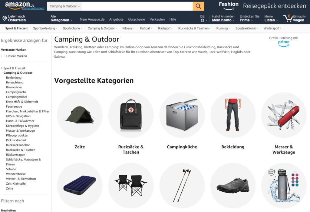 Camping-Shop
